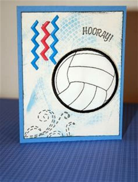 free printable volleyball birthday cards 1000 images about card making teenage boys on pinterest