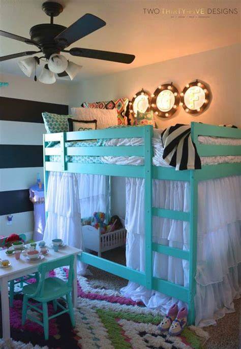 Bunk Bed With Play Area 26 Ideas To Add To A Child Room Amazing Diy Interior Home Design