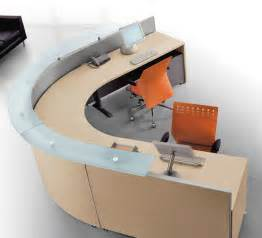 Curved Reception Desk Furniture Bralco Curved Modular Reception Desk 6 Office Furniture