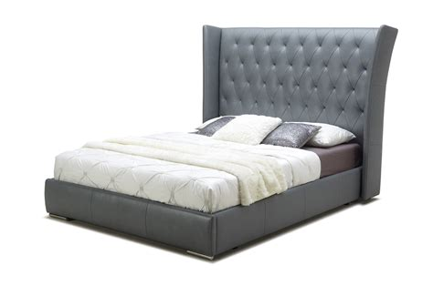 Italian Designer Kitchen extravagant leather platform and headboard bed san antonio