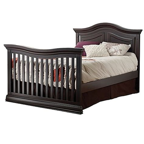 sorelle verona crib size bed buy sorelle providence size bed rails in