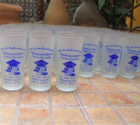 articulos personalizados para egresados imagenes 50 vasos personalizados recuerdos para graduaci 243 n 740