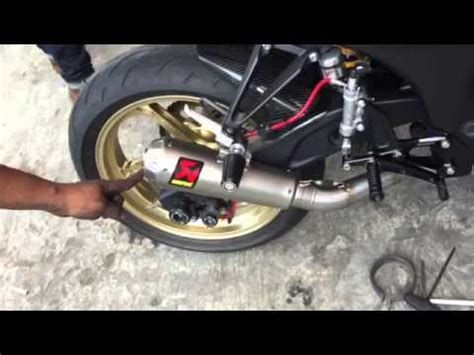 Kenalpot Racing Yamaha Scorpio Z Sc Projec Karbon High Peforma terjual akrapovic exhaust made in slovenia cbr 150 cbr 250 250 250 fi er 6 moge