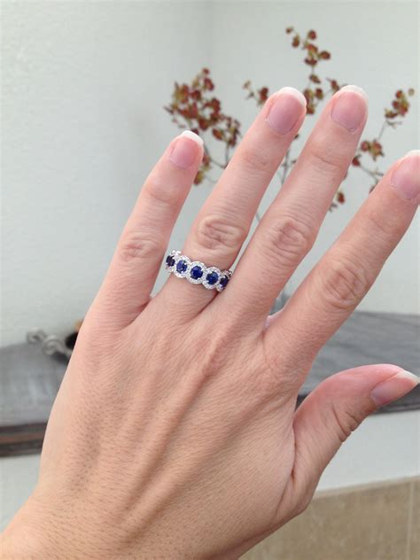 wearing a band as an engagement ring weddingbee