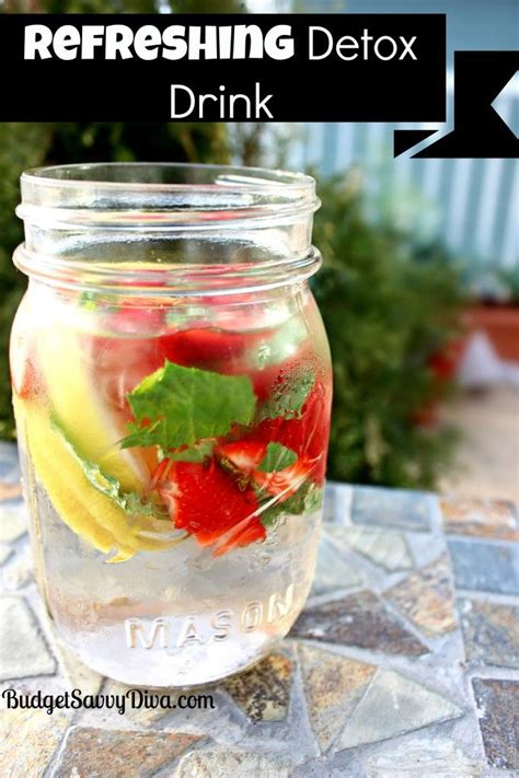 Strongest Detox Drink by Best 25 Strawberry Lemon Detox Water Ideas On