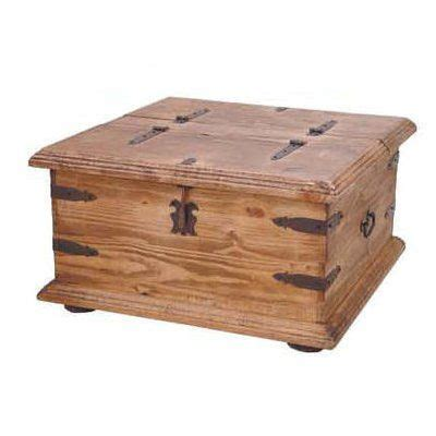 million dollar rustic 08 square two sided trunk
