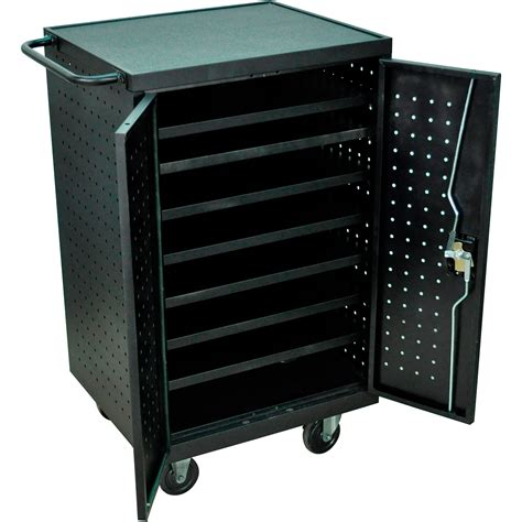 12 tablet chromebook computer charging cart from 433 00 luxor llts12 b tablet laptop charging cart