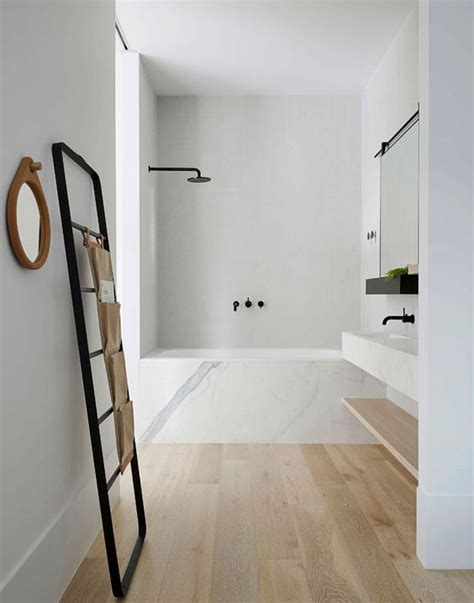 bathroom oak flooring 30 chic and inviting modern bathroom decor ideas digsdigs