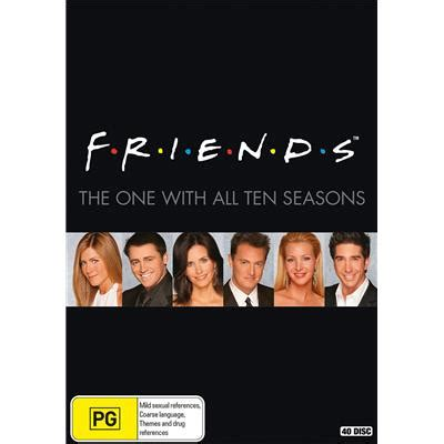 Band Tv Series Complete friends the complete series 40 dvd jb hi fi