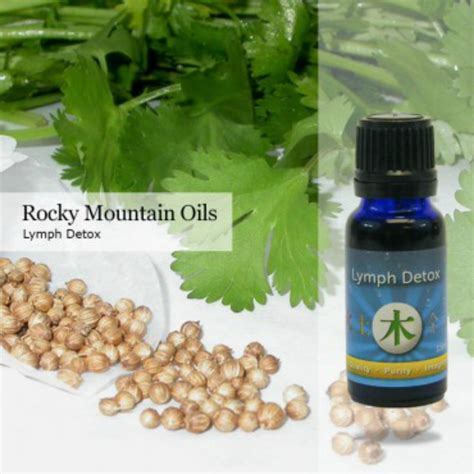 Aroma Lymph Detox by Lymph Detox Essential Rocky Mountain Oils