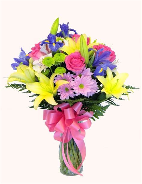 flower arrangment your florist yf3233 birthday flower arrangement milwaukee