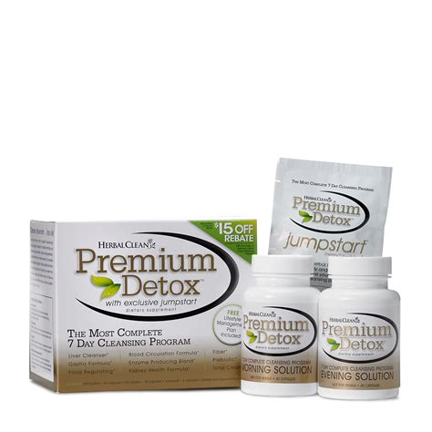 Premium Detox 7 Day Comprehensive Cleansing Program by Best T Pills To Lose Weight Fast Gnc Style By