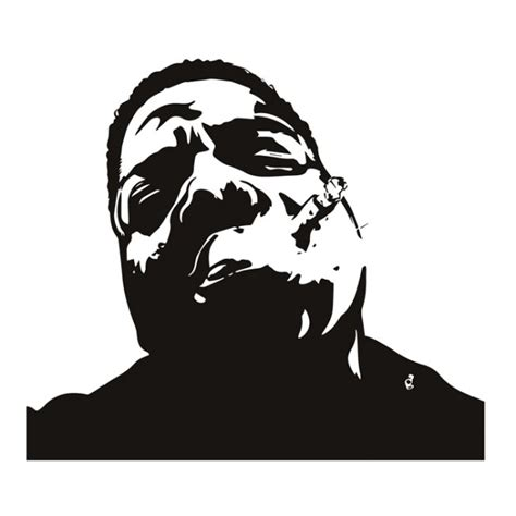 Boys Wall Stickers Uk biggie smalls notorious big icons amp celebrities wall