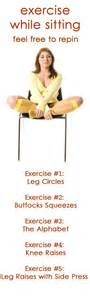 Exercises To Do While Sitting At A Desk by The World S Catalog Of Ideas