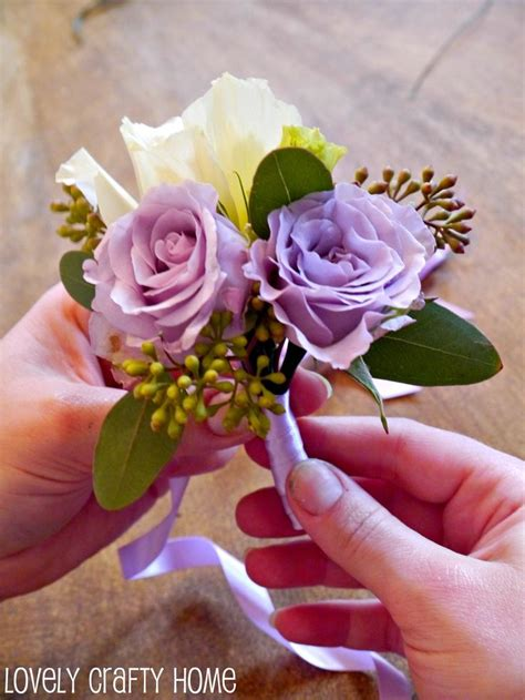 Learn How To Diy A Corsage by Step By Step Corsages Diy Wedding