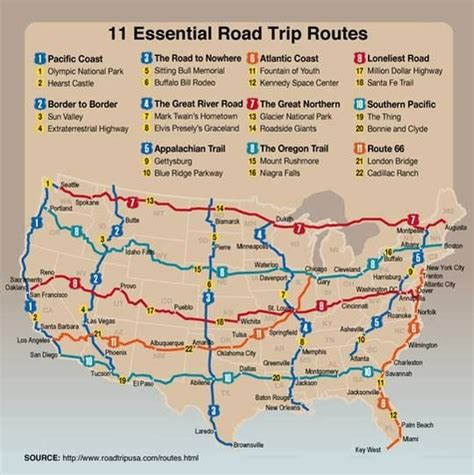 road trip route across america road trip across america places i wan to see