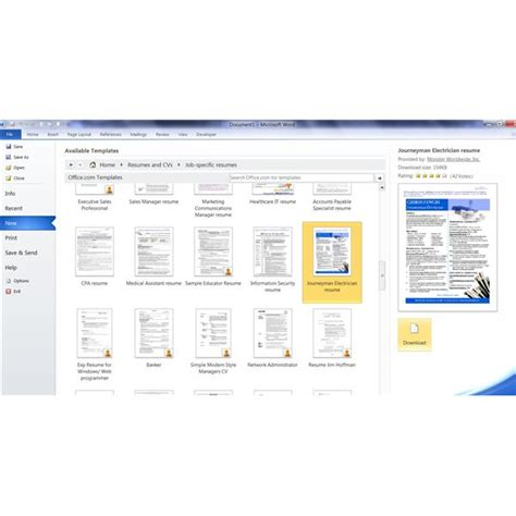 pas 79 template resume templates for microsoft word