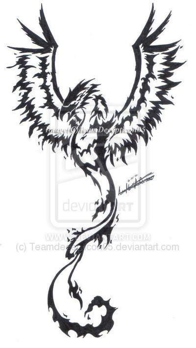 tribal phoenix tattoos designs march 2013