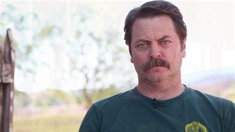 nick offerman out there nick offerman narrating shower thoughts is why the