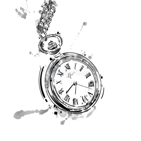 clipart orologio vector l illustrazione astratta di un orologio da tasca su