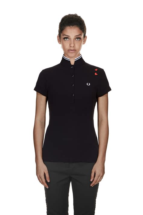 Fred Perry fred perry winehouse fred perry shirt black