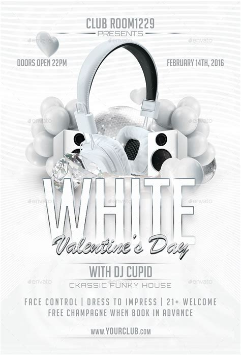 white flyer template free white day flyer template by designroom1229