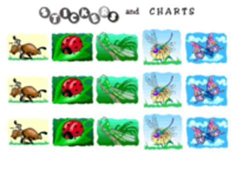 printable bug stickers free printable insect stickers and sticker charts