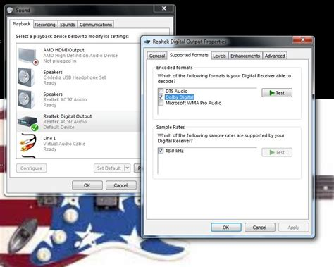 format audio realtek realtek dolby pro logic ii driver