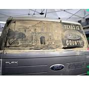 Lukisan Di Kaca Mobil Yang Mengesankan  Quicksand