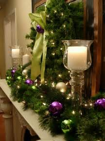 Decorating For Christmas Ideas Festive Christmas Mantel Decorating Idea In My Own Style