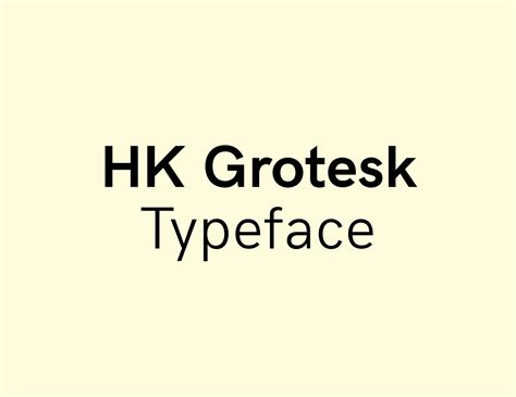 font design open source hk grotesk open source font hanken design co