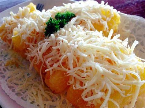 resep singkong keju  enak empuk  gampang dibuat