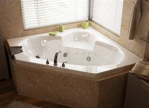air jetted bathtubs atlantis tubs 6060sdl sublime 60 x 60 x 23 inch corner