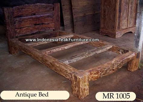 Antique Wood Bedroom Furniture Antique Wooden Bed From Bali