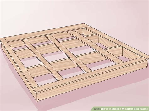 building a wooden bed frame 3 ways to build a wooden bed frame wikihow