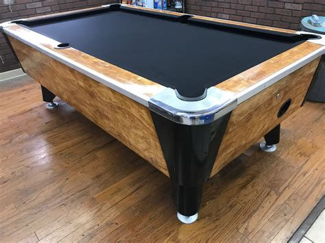 used valley pool table table 061217 valley used coin operated pool table used