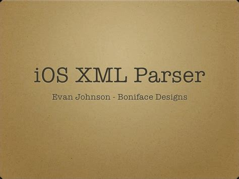 xml tutorial for ios ios xml parsing tutorial