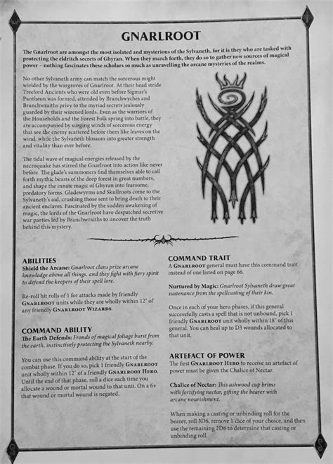 AoS: Sylvaneth Glades Sprout New Rules - Bell of Lost Souls