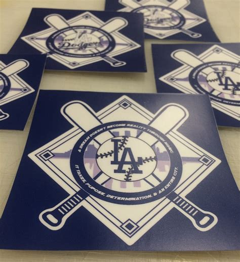 Dodgers Stickers