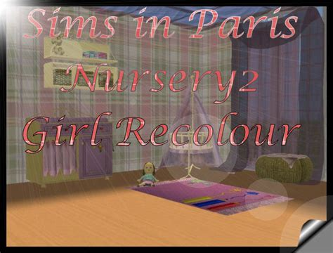 Esprit Es 1 0 7 6 3 2 0 0 9 mod the sims sims in nursery2 pink recolour for