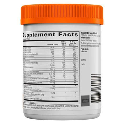 Swisse Kidney Detox by Swisse Children S Ultivite 120 Chewable Tablets