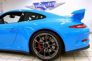 Riviera Blue Porsche Eye Riviera Blue Porsche 991 Gt3