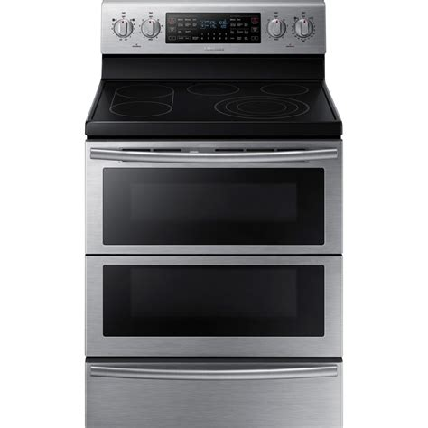 Door Range by Ne59j7850ws Samsung Flexduo 30 Quot Electric Range Dual Door