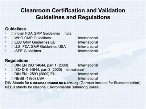 class 10000 clean room definition clean room presentation