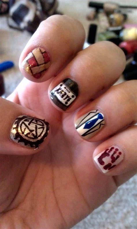 anti nails supernatural nails anti possession symbol and anti