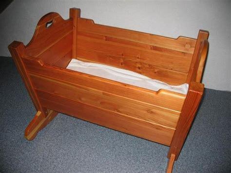 Baby Wiege Holz by Babywiege Holz Handgemacht In Obersulm Wiegen