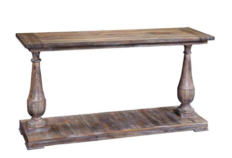sofa tables images hitchcock console table smoked barnwood finish t2618