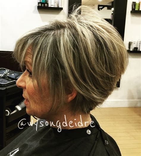 90 stacked hairstyles 90 classy and simple short hairstyles for women over 50