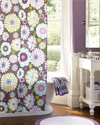 teenage bathroom shower curtains key interiors by shinay teen girls bathroom ideas