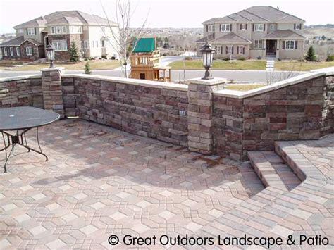 denver colorado landscaping brick pavers